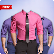 Men Formal Shirt Photo Suit 2.2