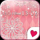 Cute wallpaper★Shiny pink 1.2