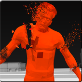 Red Superhot Shooter 1.3