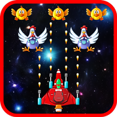 Space Attack: Chicken Shooter 1.4