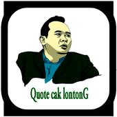 Quote Cak Lontong 1.0