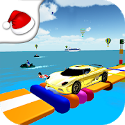 Extreme Water Car Stunts and Racing 2019 1.0