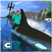 Flying Aqua Hero Vs Sea Animals 1.1