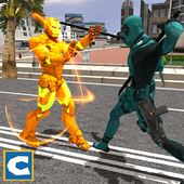 Flying Iron Robot Hero 1.0