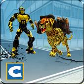 Futuristic Robot Car Transforming Cheetah Battle 1.0