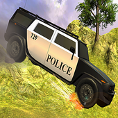 Police Car Driving Offroad 3D 1