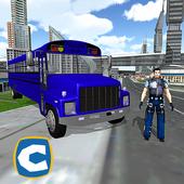 Jail Prisoner Escape Bus 1