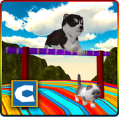 Stunts Cat Dog Simulator 3D