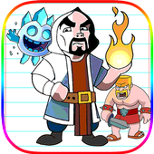 Coloring Clash Royale Characters 1.1