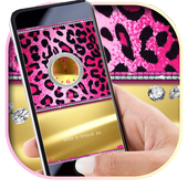 Pink Cheetah Diamond Locker Theme 1.1.1