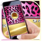 Pink Cheetah Diamond Locker Theme 1.1.1