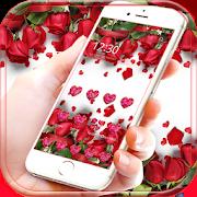 Red Rose Theme Wallpaper Red Roses Lock Screen 1.1.8