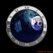 TARDIS CLOCK WIDGET 1.3