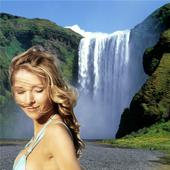 Natural Waterfall Photo Frame 1.0
