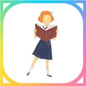 카카오톡 테마 - 책 읽는 소녀 1.0.0