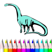 Dragon& Dinosaur Coloring Book 1.0