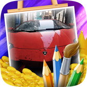 Cars Coloring Game for Kids 1.0
