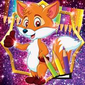 Cute Fox Coloring Book 1.2