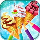 Ice Cream Coloring Book 1.2