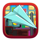 Paper Airplane in Office 1.0