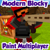 Modern Blocky Paint Online 1.9