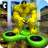 Superheroes Fidget Spinner Battle 1.2