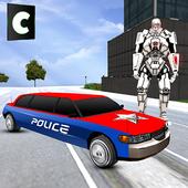 Police Limo Robot Transform 1.1