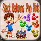Stack Balloons Pop Kids Games 1.0