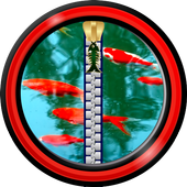 Zipper Lock Screen - Koi Fish 1.5