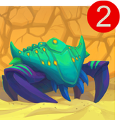 Spore Monsters.io 2 - Evolution of Sand Beasts