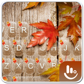 Autumn Maple Leaf Keyboard Theme 6.4.30.2019