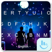 Under The Moon Keyboard Theme 6.8.18.2018