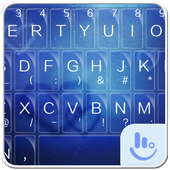 TouchPal Blue Rain Theme 6.8.15.2018