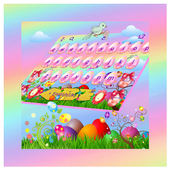 Easter Day Keyboard Theme 6.4.15.2019