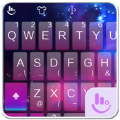 TouchPal Galaxy Keyboard Theme 6.8.15.2018