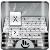 Galaxy Silver Keyboard Theme 6.12.22.2018