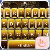 Gold Tattoo Keyboard Theme 6.6.29