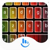 Gradient Stripe Emoji Keyboard 6.7.1