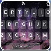 Fantasy Galaxy Keyboard ThemeEmoji Free ThemesPersonalization