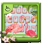 Pink Flamingo Keyboard Theme 6.6.2.2019