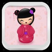 Pink Kokeshi Keyboard 1.128.12.4