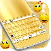 Shiny Gold Keyboard Theme 1.181.1.75