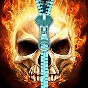 Skull lock screen. 2.0.0.40