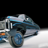 Theme With Lowrider Cars 1.0