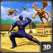 Ninja Assassin Shadow Warrior: Monster Hunt 1.0