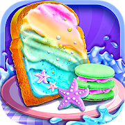 Mermaid Unicorn Cupcake Bakery Shop Cooking Game 1.4