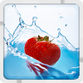 Strawberry Fall Live Wallpaper 1.0