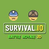 Survival io 2D Battle Royale 3