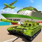 US Army Transport Game – Cargo Plane & Army Tanks 1.6