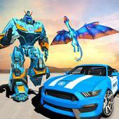 US Police Transform Robot Car Flying Fire Dragon 1.0.2
